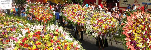 Desfile de Silleteros Feria de las Flores Medellin